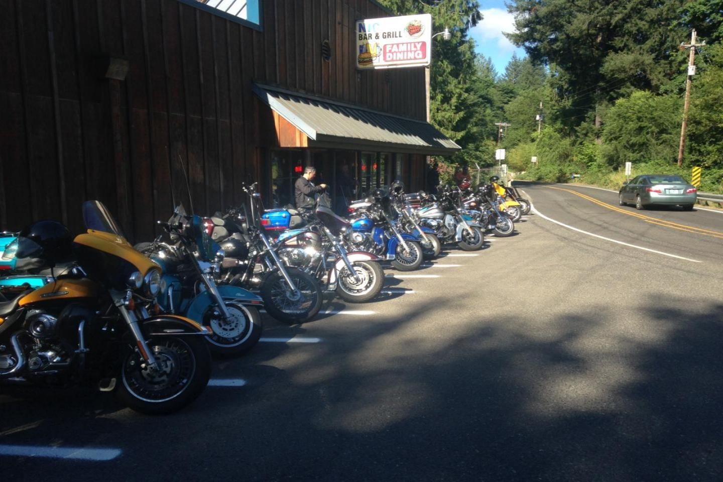 Nicks Tavern poker run